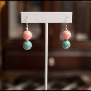 New sterling silver 925 Swarovski pearl earrings